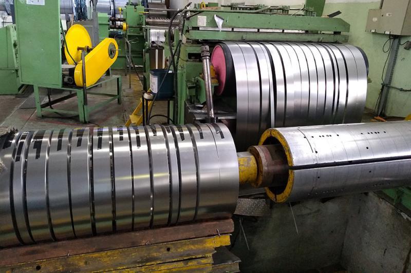 Empresas de corte de bobinas de aço