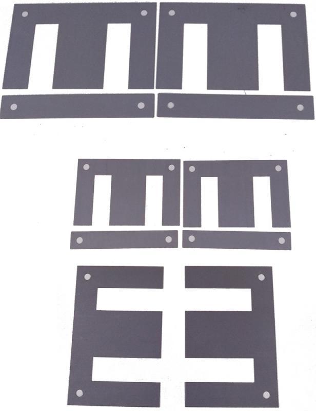 Lamina magnética para transformadores